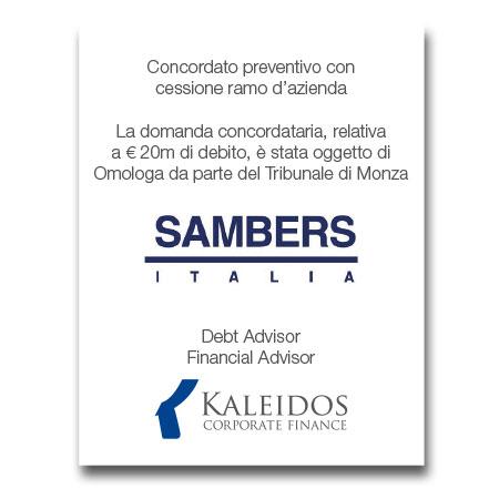 Kaleidos Tombstone Sambers