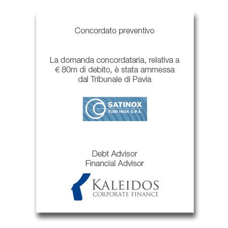Kaleidos Tombstone Satinox
